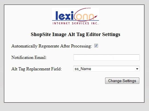 Alt Tag Editor Admin